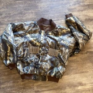 Vintage Columbia reversible hunting jacket…